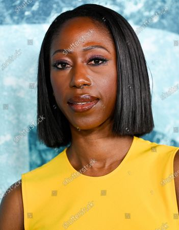 """Actress Nikki Amuka-Bird attends the world premiere of """"Old"""" at Rose Theater at Jazz at Lincoln Center, in New York"""
