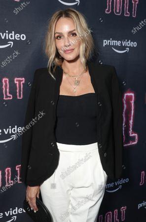 "Stock Picture of Monet Mazur attends Amazon Studios ""Jolt"" Special Screening"