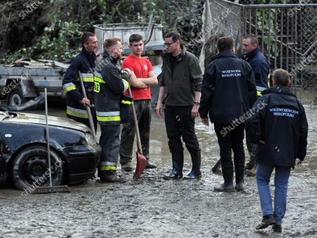 Editorial picture of Aftermath of Flash floods in Glogoczow, Poland - 18 Jul 2021