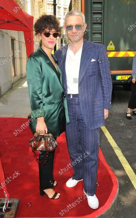 Rachel Mariam and Martin Freeman