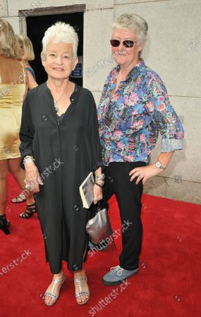 Stock Photo of Dame Jacqueline Wilson DBE and guest