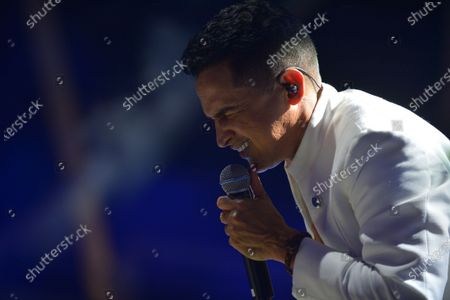 Stock Picture of Colombian Singer Jorge Celedon