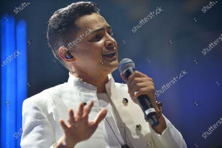 Stock Image of Colombian Singer Jorge Celedon