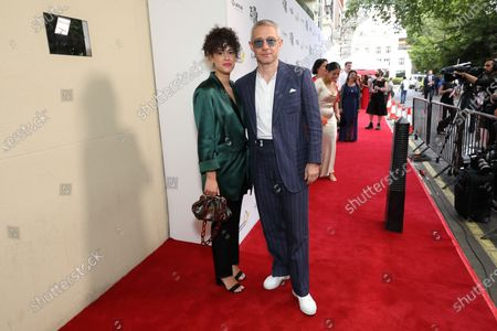 Stock Picture of Martin Freeman and Partner