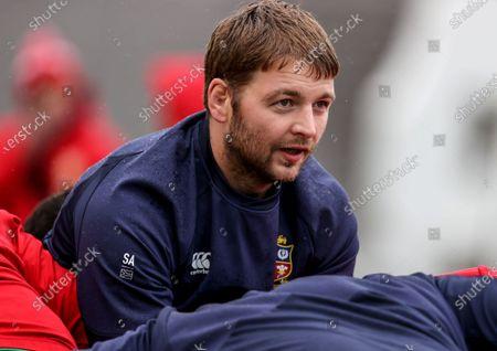 British & Irish Lions Squad Training, South Africa 20/7/2021. Iain Henderson