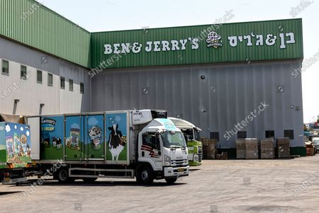 Editorial image of Ben & Jerry's, Be'er Tuvia, Israel - 20 Jul 2021