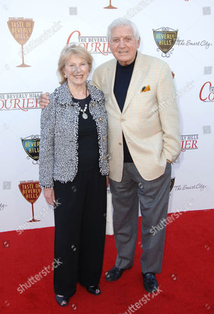 Monty Hall and wife Marilyn Plottel