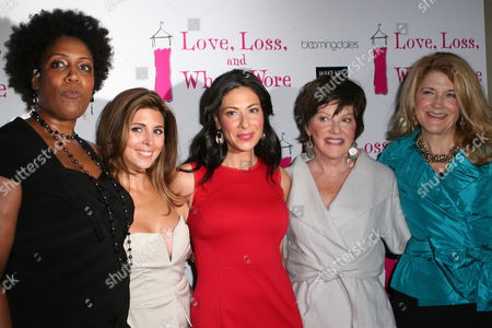 Stock Photo of Nancy Giles, Jamie-Lynn Sigler, Stacy London, Helen Carey and Victoria Clark