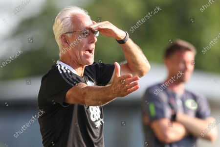 Cardiff City manager Mick McCarthy during the Pre-Season Friendly match between Forest Green Rovers and Cardiff City at the New Lawn, Forest Green