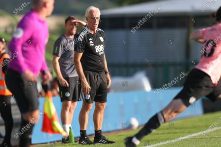 Stock Photo of Cardiff City manager Mick McCarthy during the Pre-Season Friendly match between Forest Green Rovers and Cardiff City at the New Lawn, Forest Green