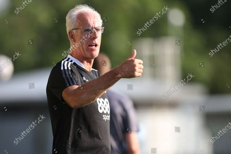 Cardiff City manager, Mick McCarthy during the Pre-Season Friendly match between Forest Green Rovers and Cardiff City at the New Lawn, Forest Green
