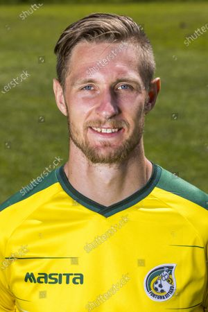 Sebastian Polter of Fortuna Sittard during the press presentation of Fortuna Sittard at the training complex on July 20, 2021 in Sittard, The Netherlands