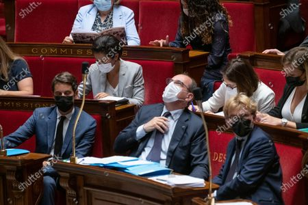 Editorial image of Weekly session of questions to the government, Paris, France - 20 Jul 2021