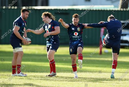 Editorial picture of British & Irish Lions rugby training, Hermanus, South Africa - 20 Jul 2021