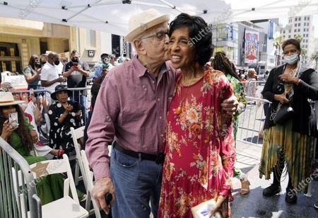 Editorial image of Marla Gibbs Honored With A Star On The Hollywood Walk Of Fame, Los Angeles, United States - 20 Jul 2021