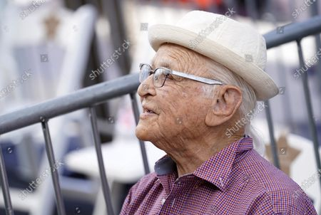 Stock Photo of Writer/producer Norman Lear attends a Hollywood Walk of Fame star ceremony for actress Marla Gibbs, in Los Angeles
