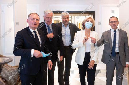 Philippe Juvin, Michel Barnier, Laurent Wauquiez, Valerie Pecresse, Bruno Retailleau.