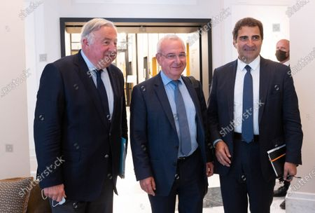 Editorial picture of Les Republicains meet in preparation of the 2022 French presidential election, Paris, France - 20 Jul 2021