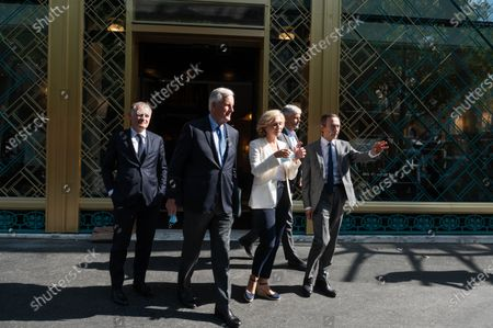 Philippe Juvin, Michel Barnier, Laurent Wauquiez, Valerie Pecresse, Bruno Retailleau