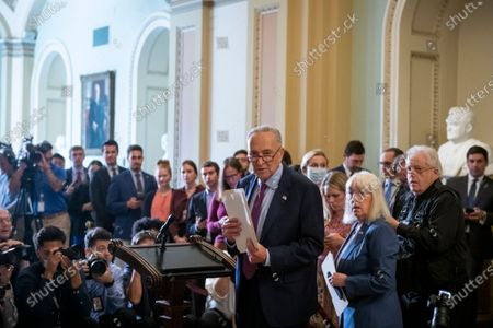 Editorial image of Democratic Senate Lunceon Press Conference, Washington, District of Columbia, USA - 20 Jul 2021