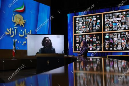 Editorial photo of Free Iran World Summit day 3, Tirana, Albania - 12 Jul 2021