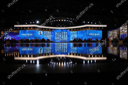 Editorial image of Free Iran World Summit day 3, Tirana, Albania - 12 Jul 2021