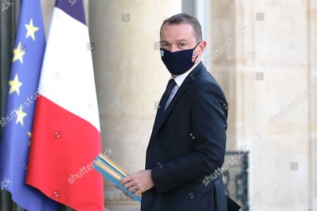 French Junior Minister of Public Action and Accounts Olivier Dussopt