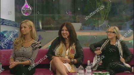 Chantelle Houghton, Nadia Almada and Nikki Grahame
