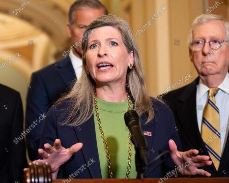 Editorial picture of Senate Republican Leadership Press Conference in Washington, US - 20 Jul 2021