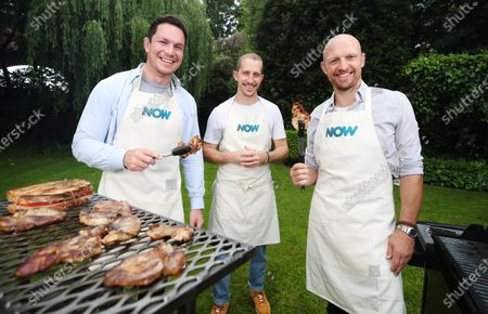 Stock Picture of Ahead of the British and Irish Lions Tour of South Africa test matches, streaming service NOW enlists rugby stars Matt Dawson and Francois Louw to compete in the ultimate cultural test match - Braai versus BBQ. Hosted by South African chef Patrick Williams