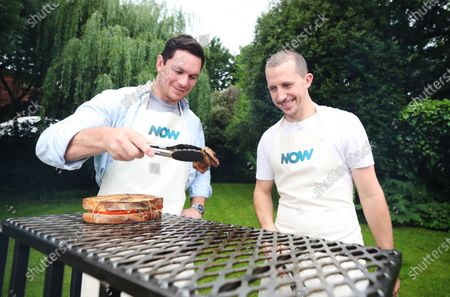 Editorial photo of Now TV Braai v BBQ Lions rugby tour battle, London, UK - 21 Jul 2021