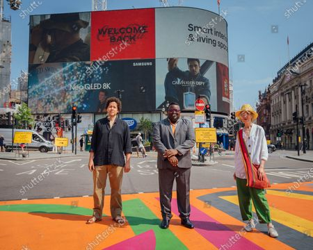 Editorial image of Piccadilly Art Takeover, London, UK - 21 Jul 2021
