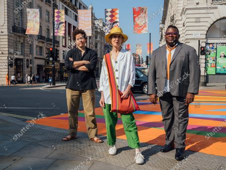 Editorial picture of Piccadilly Art Takeover, London, UK - 21 Jul 2021