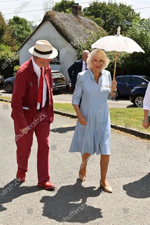 Editorial image of Prince Charles and Camilla Duchess of Cornwall visit to Devon and Cornwall, Day 3, UK - 21 Jul 2021