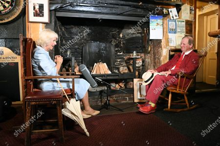 Camilla Duchess of Cornwall visits the Duke of York Inn in Iddesleigh to join author Sir Michael Morpurgo at a lunch club for local residents, the first since the pandemic began. During the visit, Her Royal Highness will hear how Sir Michael met the man who inspired his novel â€War Horse†at the pub and discuss why she chose the book for Season 3 of The Duchess of Cornwallâ€s Reading Room.