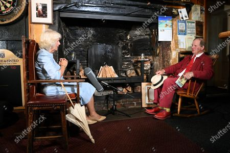 Editorial picture of Prince Charles and Camilla Duchess of Cornwall visit to Devon and Cornwall, Day 3, UK - 21 Jul 2021