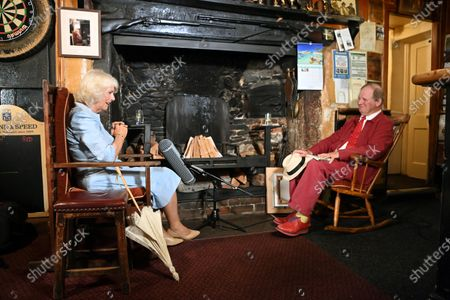 Editorial photo of Prince Charles and Camilla Duchess of Cornwall visit to Devon and Cornwall, Day 3, UK - 21 Jul 2021