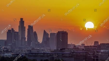 Editorial picture of Seasonal weather, London, UK - 19 Jul 2021