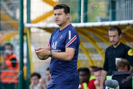PSG coach Mauricio Pochettino