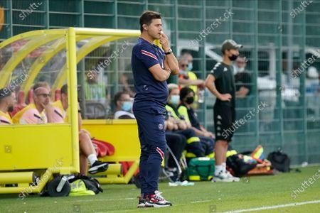 Stock Image of PSG coach Mauricio Pochettino