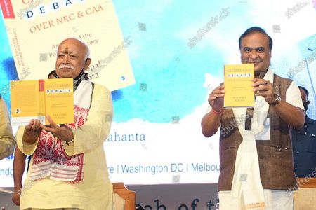 Editorial photo of Launching Ceremony Of Book On NRC AND CAA Debate, Guwahati, India - 21 Jul 2021