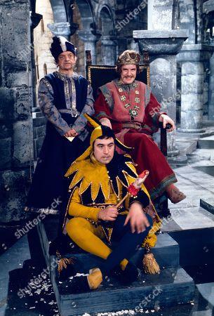 Johnny Vyvyan, Terry Jones and Michael Palin