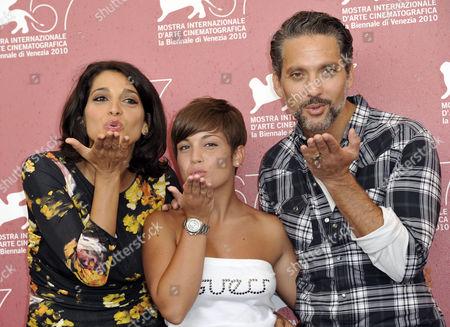 Editorial image of 'I Baci Mai Dati' film photocall, 67th Venice International Film Festival, Venice, Italy - 03 Sep 2010