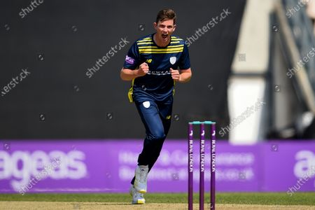 Editorial image of Hampshire v Essex Eagles, Royal London One Day Cup Group A, The Ageas Bowl, Southampton, Hampshire - 22 Jul 2021