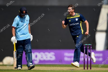 Editorial photo of Hampshire v Essex Eagles, Royal London One Day Cup Group A, The Ageas Bowl, Southampton, Hampshire - 22 Jul 2021
