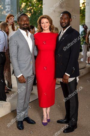 David Oyelowo, Jessica Oyelowo and Malachi Kirby