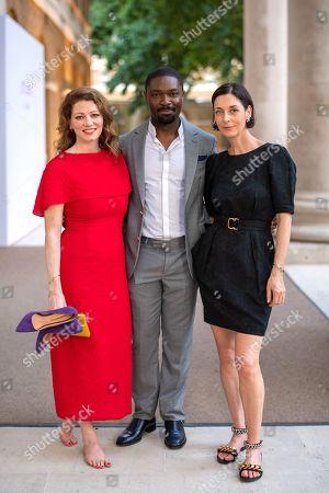 Jessica Oyelowo, David Oyelowo and Mary McCartney