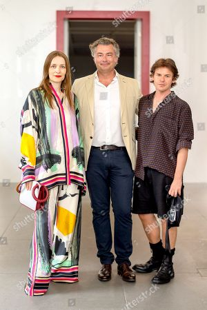 Stock Picture of Roksanda Ilincic, Laurent Feniou and Christopher Kane