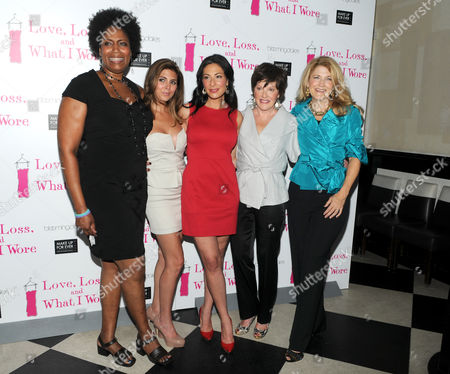 Stock Picture of Nancy Giles and Jamie-Lynn Sigler and Stacy London and Helen Carey and Victoria Clark