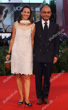 Giancarlo Leone and wife